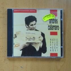 ANDRES CALAMARO - NADIE SALE VIVO DE AQUI - CD