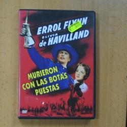MURIERON CON LAS BOTAS PUESTAS - DVD