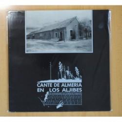 CANTE DE ALMERIA EN LOS ALJIBES - 25 ANIVERSARIO DE LA PEÑA EL TARANTO - LP