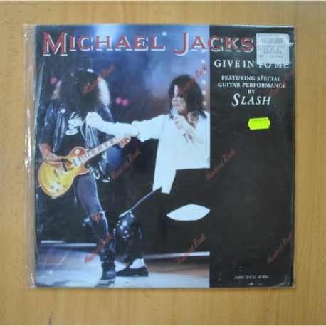MICHAEL JACKSON - GIVE IN TO ME - MAXI