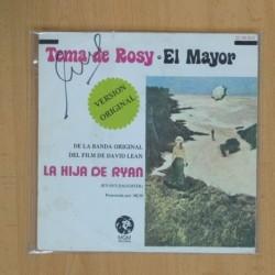 VARIOS - TEMA DE ROSY / EL MAYOR - SINGLE