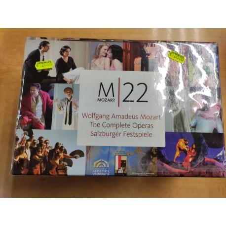 MOZART - COMPLETE OPERAS - BOX DVD