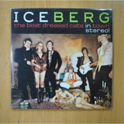 DAVID LACHAPELLE - ICEBERG THE BEST DRESSED CATS IN TOWN - GATEFOLD - LP