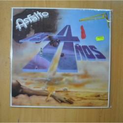 ASFALTO - 15 AÑOS - LP