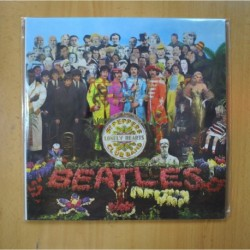 THE BEATLES - SGT PEPPERS LONELY HEARTS CLUB BAND - CONTIENE RECORTABLES - VINILO AMARILLO - LP