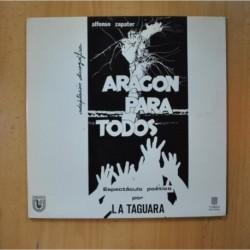 LA TAGUARA - ARAGON PARA TODOS - GATEFOLD - LP