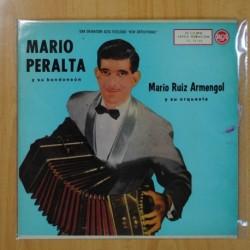 MARIO PERALTA Y SU BANDONEON - MARIO RUIZ ARMENGOL Y SU ORQUESTA - LP