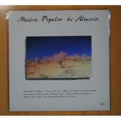 VARIOS - MUSICA POPULAR DE ALMERIA VOL. 1 - LP
