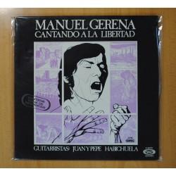 MANUEL GERENA - CANTANDO A LA LIBERTAD - LP