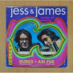 JESS & JAMES - NUBES / ASI FUE - SINGLE