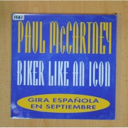 PAUL MCCARTNEY - BIKER LIKE AN ICON - SINGLE