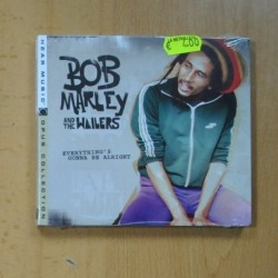 BOB MARLEY AND THE WAILERS - EVERYTHINGS GONNA BE ALRIGHT - CD