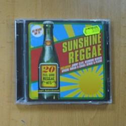 VARIOS - SUNSHINE REGGAE - CD