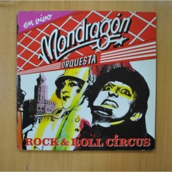 ORQUESTA MONDRAGON - EN VIVO ROCK & ROLL CIRCUS - GATEFOLD - 2 LP