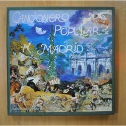 VARIOS - CANCIONERO POPULAR DE MADRID - INCLUYE LIBRETO - BOX 2 LP