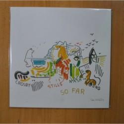 CROSBY, STILLS NASH AND YOUNG - SO FAR - VINILO BLANCO - LP