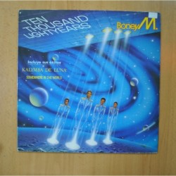 BONEY M - TEN THOUSAND LIGHTYEARS - LP