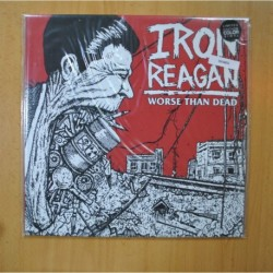IRON REAGAN - WORSE THAN DEAD - VINILO BLANCO - LP