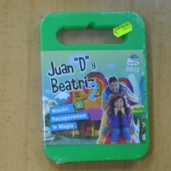 JUAN D Y BEATRIZ 2 MISION RECUPEREMOS LA MAGIA - CD + DVD