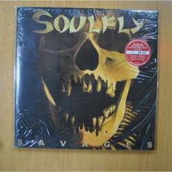 SOULFLY - SAVAGES - VINILOS ROJOS - 2 LP