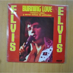ELVIS PRESLEY - BURNING LOVE - LP