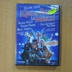 QUE NO PARE LA MUSICA - DVD