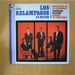 LOS RELAMPAGOS - LO MEJOR - LP
