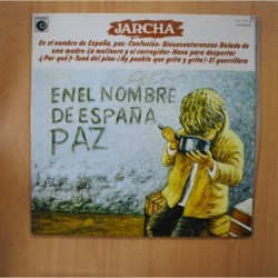 JARCHA - EN EL NOMBRE DE ESPAÑA PAZ - GATEFOLD - LP