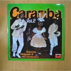 ROBERGO DELGADO & HIS ORCHESTRA - CARAMBA VOL 2 - LP