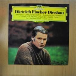 DIETRICH FISCHER / DIESKAU - MAHLER CANCIONES DE UN CAMARADA ERRANTE - LP
