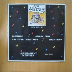 VARIOS - ROCK A EIVISSA - PROMO - LP