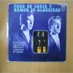 PACO DE LUCIA Y RAMON DE ALGECIRAS - 12 HITS PARA 2 GUITARRAS FLAMENCAS - LP