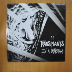 TRANSPLANTS - IN A WARZONE - LP + CD
