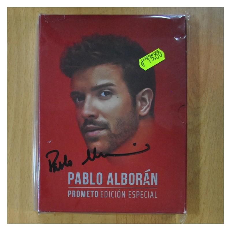 Pablo Alboran Prometo Edicion Especial Cd Discos La Metralleta