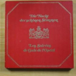 VARIOS - LES SOIREES DE GALA DE L´OPERA - BOX 8 LP