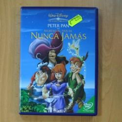 PETER PAN EL REGRESO AL PAIS DE NUNCA JAMAS - DVD