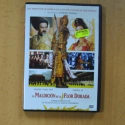 LA MALDICION DE LA FLOR DORADA - DVD
