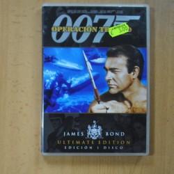 007 OPERACION TRUENO - DVD