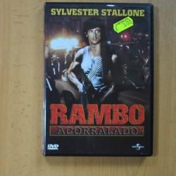 RAMBO ACORRALADO - DVD