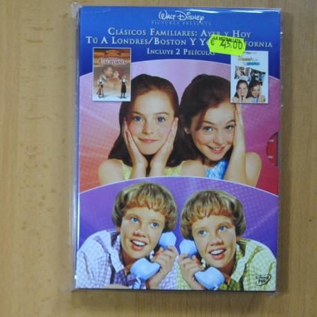 TU A LONDRES Y YO A CALIFORNIA / TU A BOSTON Y YO A CALIFORNIA - DVD