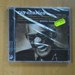 VARIOS - GENIUS LOVES RAY CHARLES - CD