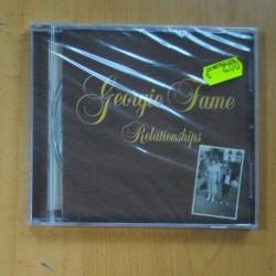 GEORGIE FLAME - RELATIONSHIPS -CD