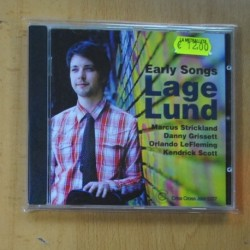 LAGE LUND - EARLY SONGS - CD