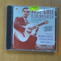 JOSE LUIS Y SU GUITARRA - TODS SUS PRIMEROS EPS EN DISCOS PHILLIPS 1958 / 1960 - CD