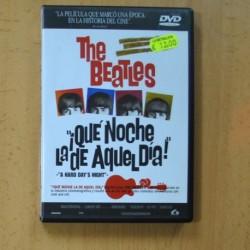 THE BEATLES - QUE NOCHE LA DE AQUEL DIA - DVD