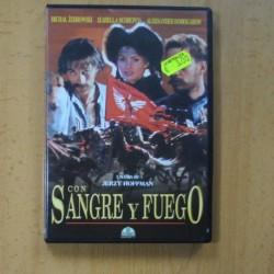 CON SANGRE Y FUEGO - DVD