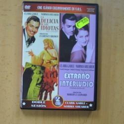 LA DELICIA DE LOS IDIOTAS / EXTRAÑO INTERLUDIO - 2 DVD