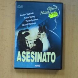 ASESINATO - DVD