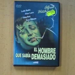 EL HOMBRE QUE SABIA DEMASIADO - DVD