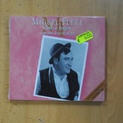 MIGUEL FLETA - CANTA A ARAGON CIEN AÑOS DE LA VOZ DE ORO - CD